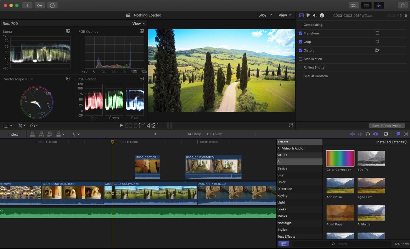 Final Cut Pro X Screenshot