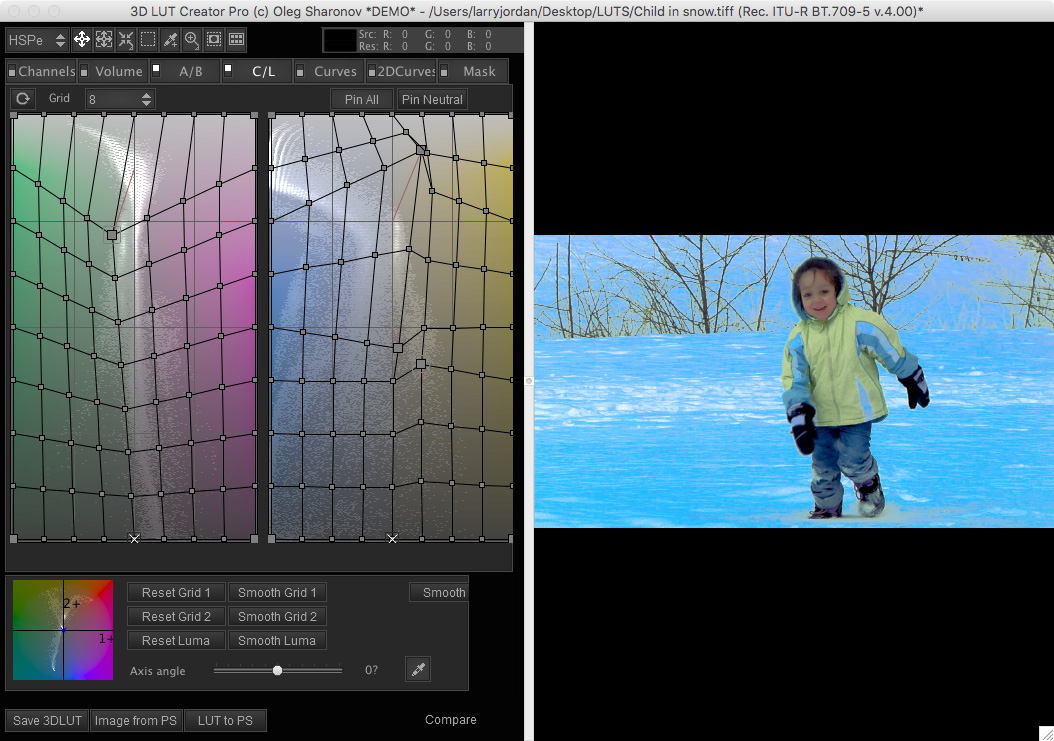 3D Lut Creator Screenshot