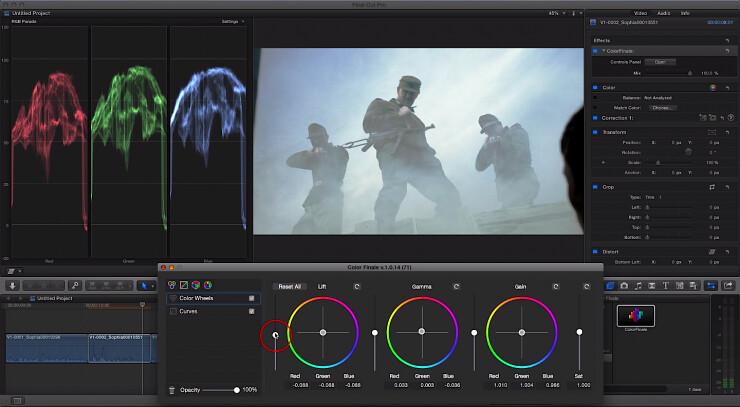 ColorFinale Screenshot