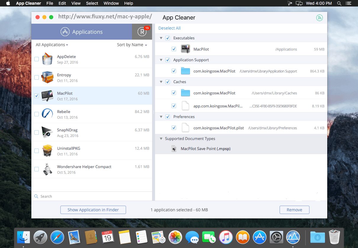App Cleaner & Uninstaller Pro Screenshot