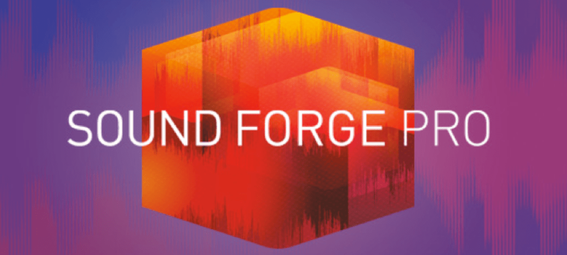 Sound Forge Pro Cover